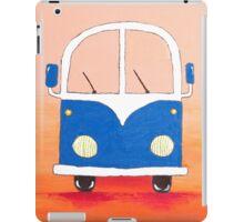 Blue bus iPad Case/Skin
