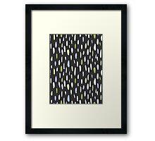 Hand drawing   pattern Framed Print