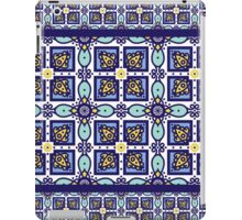 Blue ornament traditional Portuguese azulejos.  iPad Case/Skin