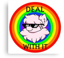 Deal With The Fluffle Canvas Print