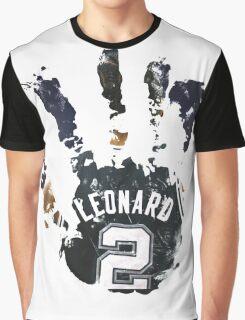 kawhi leonard hand Graphic T-Shirt