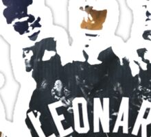 kawhi leonard hand Sticker