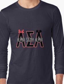 Alpha Sigma Alpha Long Sleeve T-Shirt