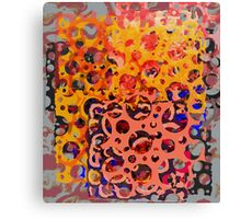 Abstract composition 360 Canvas Print