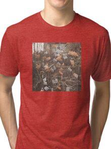 Three Stripe Tri-blend T-Shirt