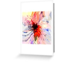 Abstract composition 371 Greeting Card