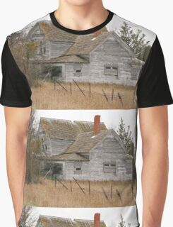 Deserted House Graphic T-Shirt