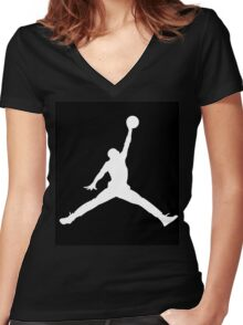 Jordan Women's Fitted V-Neck T-Shirt