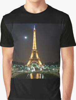 eiffel tower night Graphic T-Shirt