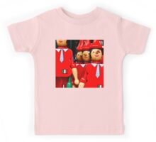 TIES, HATS AND WOODEN NOSES Kids Tee