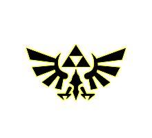 Zelda - Hylian Crest V2 Photographic Print