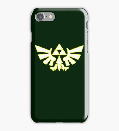 Zelda - Hylian Crest V3 iPhone Case/Skin