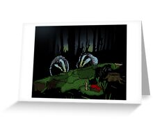 Badgers ball Greeting Card