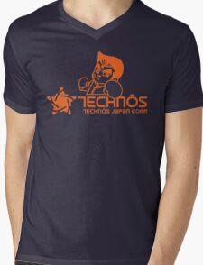 Technos Japan Kunio Mens V-Neck T-Shirt