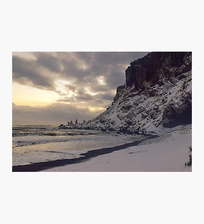 Reynisfjara, Vik, Iceland Photographic Print