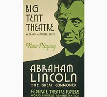 BIG TENT THEATRE - Abraham Lincoln Unisex T-Shirt