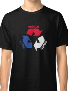 America Recycle  Classic T-Shirt