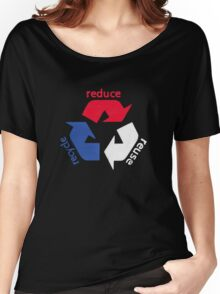 America Recycle  Women's Relaxed Fit T-Shirt