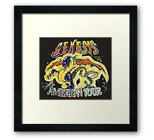 Genesis TOUR Framed Print