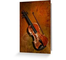 Musical Greeting Card