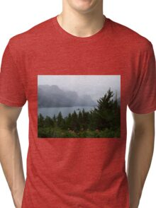 Rainy Day at Wild Goose Island Tri-blend T-Shirt