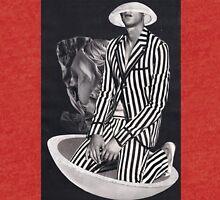 Black And White - Stripes Tri-blend T-Shirt