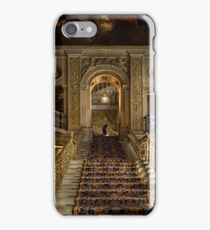 Chatsworth house-Stairs iPhone Case/Skin