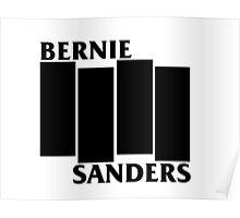Bernie Sanders Black Flag Poster