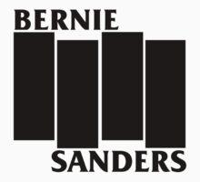 Bernie Sanders Black Flag One Piece - Short Sleeve