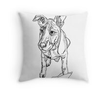 Belle - Bouncing Baby Roo Throw Pillow