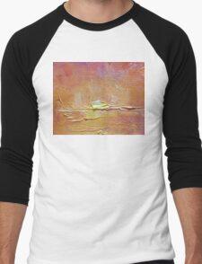 Sunset - Abstract Sun Setting Over The Ocean Men's Baseball ¾ T-Shirt