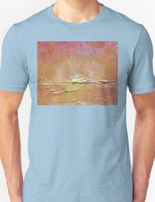 Sunset - Abstract Sun Setting Over The Ocean Unisex T-Shirt