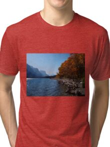 Fall Shoreline Tri-blend T-Shirt