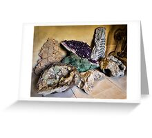 Chatsworth house- Minerals Greeting Card