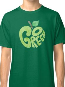 Go Green Apple Classic T-Shirt