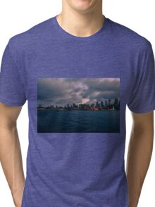 Bainbridge Island ferry, Seattle, Washington Tri-blend T-Shirt