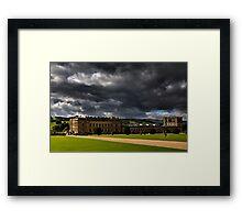 Chatsworth house-House Framed Print