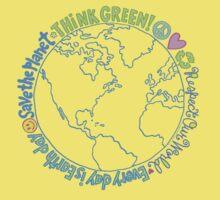 Think Green World Kids Tee