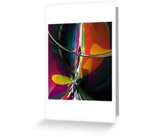 Abstract composition 404 Greeting Card