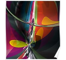 Abstract composition 404 Poster