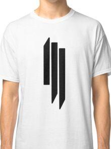 Skrillex - ill - Black on White Classic T-Shirt