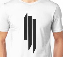Skrillex - ill - Black on White Unisex T-Shirt