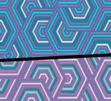 Colorful Geometric Pattern Art Sticker