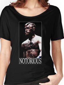 Conor McGregor - Notorious Women's Relaxed Fit T-Shirt