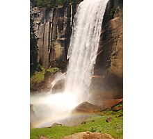 Waterfall Rainbow Photographic Print