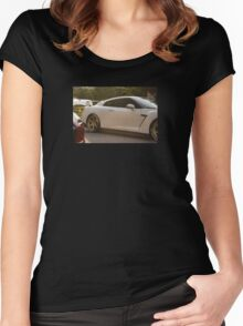 GTR and BMW M4 Women's Fitted Scoop T-Shirt