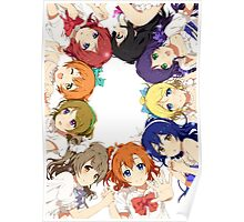 Love Live! Circle Design Poster