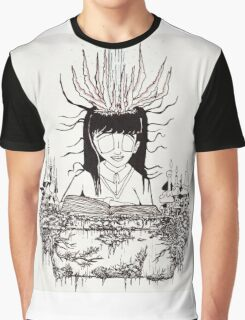 Mitsuko's Spellbook Graphic T-Shirt