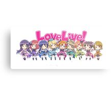 Love Live! Chibi Design Metal Print