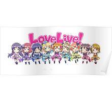 Love Live! Chibi Design Poster